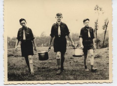 Op Chirokamp in de Ardennen, 1952