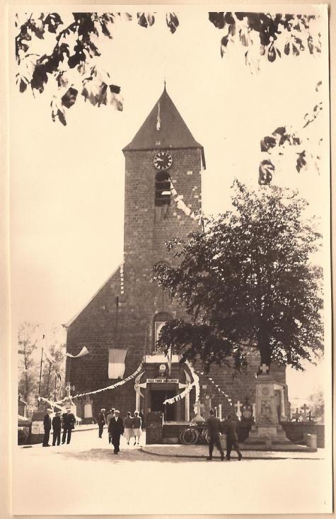 Kerk, Sint- Lievens- Houtem, 1957