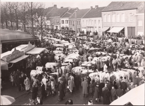 Jaarmarkt, Sint-Lievens-Houtem, 1967