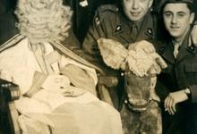 Portret met Sinterklaas