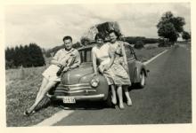 Op reis met de Renault, Ardennen, 1958
