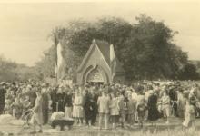 Machariusommegang Papegem, Sint-Lievens-Houtem, 1952