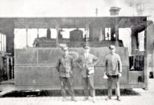 Tram van lijn Gent Geraardsbergen, Gent, 1927