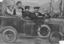 Kermisfoto in een auto, Balegem