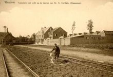 Tramlijn Wetteren-Zottegem, Massemen, 1e helft 20e eeuw.