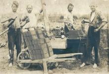 Houtemse seizoenarbeiders, Frankrijk, 1920-1930
