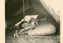 Chiro Melle op kamp in de Ardennen, 1955-1959