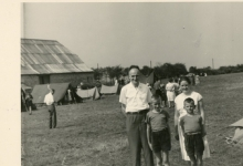 Chiro Melle, bezoekdag, Bioul, 1959