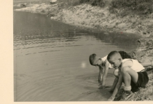 Chiro Melle, kamp te Bioul, 1959