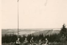 Chiro Melle, fietstocht in de Ardennen, 1962