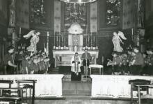 Chiro Melle, de leden in de kerk, Melle, 1961