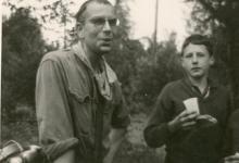 Chiro Melle, vieruurtje op kamp, Orval, Belgie, 1965