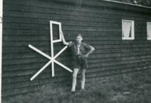 Chiro Melle, Chiroteken, Kruisstraat, Melle 1965?