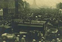 Gebakkraam De Pauw op Houtem Jaarmarkt, Sint-Lievens-Houtem