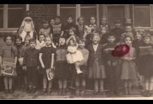 Sinterklaas op bezoek Sint-Lievens-Instituut 1954-55