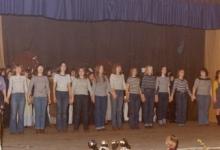 Groepsfeest Tiptiens chiro Geertrui, Melle, 1975-1979
