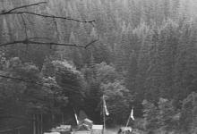 Kampterrein van Chiro Scheldering, Brisy, 1978