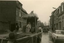 Driekoningenstoet in de Pontstraat, Chiro Melle, 1965- 1969.