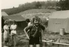 Steltenlopen,Manderfeld, 1973.