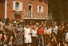 Groepsfoto, Tirol, 1977.