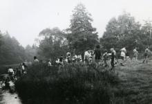 Ochtendtoilet, Tenneville, 1979.