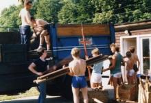 Inladen voor de voorwacht chiro Melle, 1984
