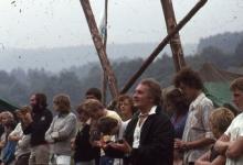 Bezinning op chirokamp, 1978
