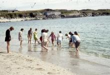 Chiro Melle Geertrui. Pootje baden in Spanje, 1970.