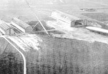 luchtfoto van een vlieghaven