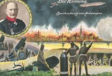 De beschieting van Antwerpen, 1914