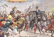 De zeppelin komt!, 1910