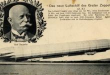 Graaf zeppelin en zijn tweede luchtschip, 1908