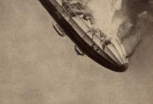 Neerstortende zeppelin, 1913