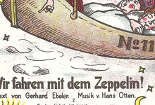 Lied over de voordelen van de zeppelin, 1909
