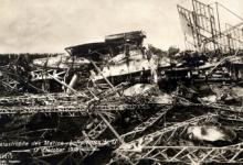 Resten neergestorte zeppelin LII, 1913