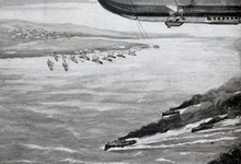 Naar Engeland! Zeppelin invasie, 1915