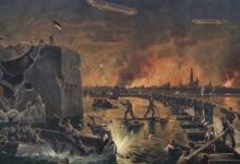 Verovering van Antwerpen door generaal Von Beseler, 1914