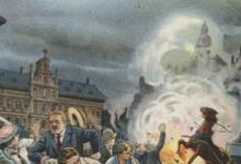 Zeppelin bombardement op Antwerpen, 1914