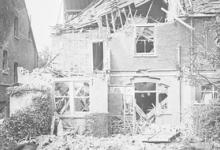 Schade door zeppelinbombardement, 1915