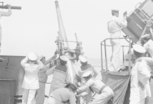 Engels luchtafweergeschut, 1915