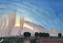 The balloon Apron, 1915