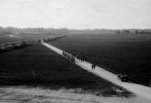 Bezoek Lüdendorff aan Gontrode, 1917