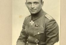 Hoofdman Ernst Brandenburg, 1917