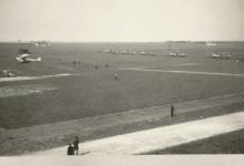 Tussenlanding bij de eerste aanval met Gotha's op Groot-Brittannië, 1917