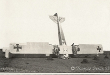 Verkeerd gelande Gotha, Gontrode, 1917