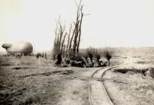 Duitse verkennersballon, 1915