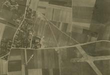 Zicht op de site van het voormalig vliegveld van Gontrode, 1917.