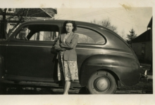 Geëmigreerd, Alice Bloem en haar Amerikaanse auto , Sint-Lievens-Houtem