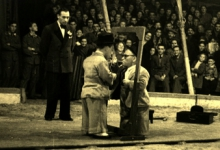 Nadje en Franske van Circus Tondeurs, Sint-Lievens-Houtem, 1920-1950