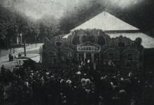 Circus Libot op Houtem Jaarmarkt, Sint-Lievens-Houtem, 1912